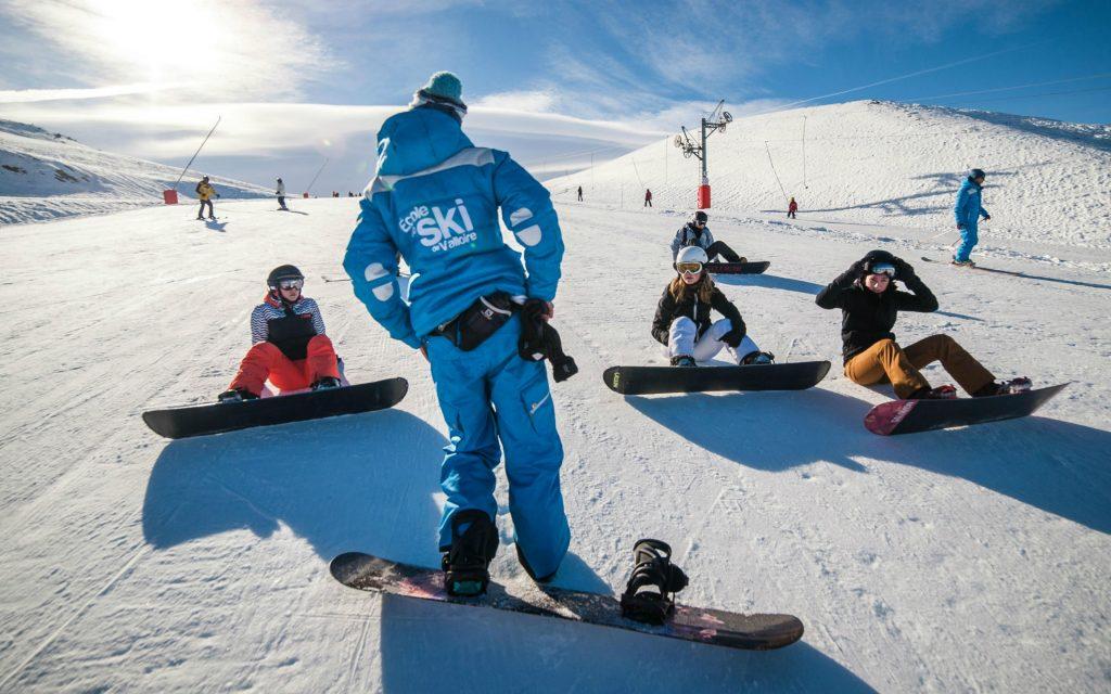 débuter snowboard