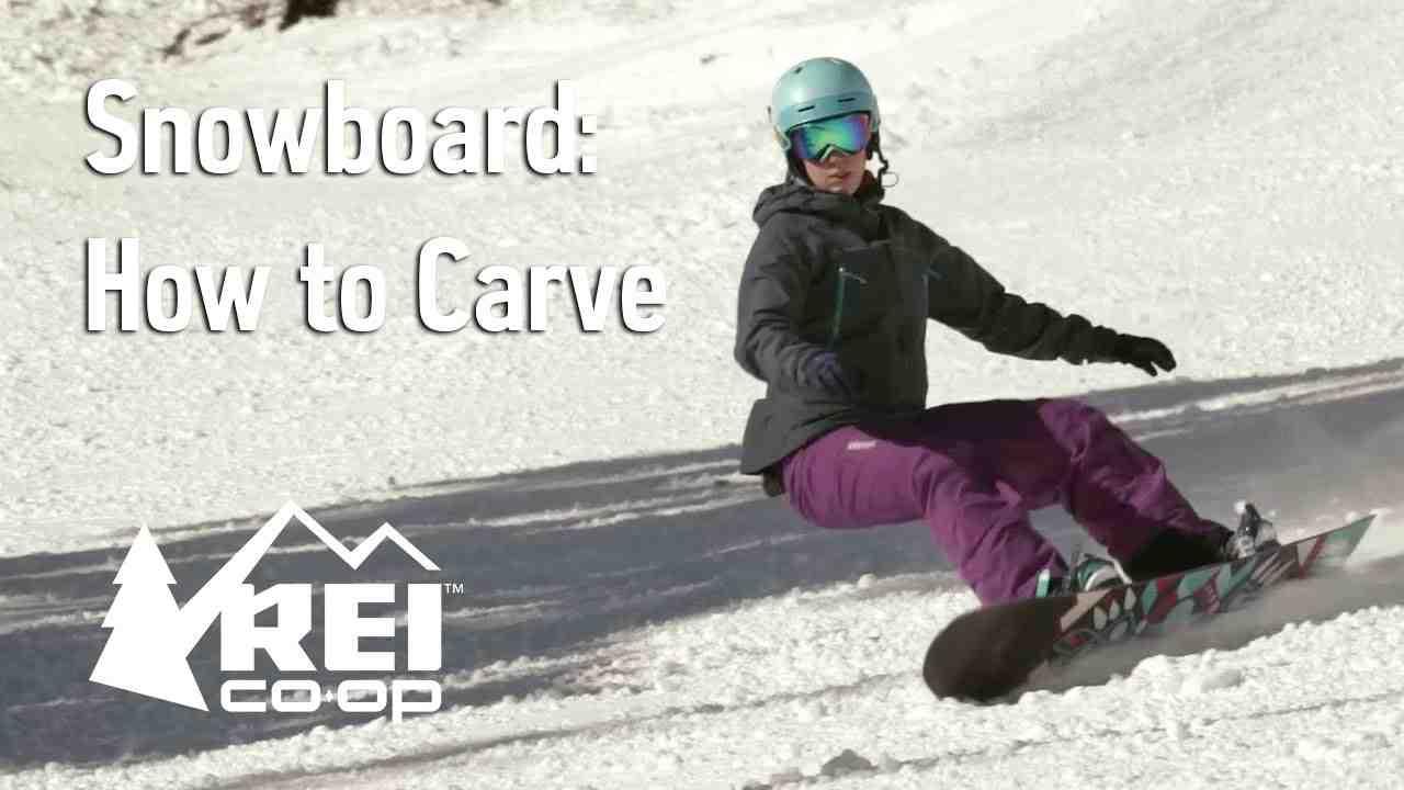 Angulation correcte des angles du corps pour votre nouvelle technique de snowboard Carving