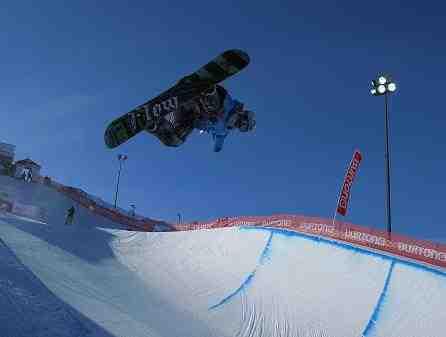 Techniques de saut en snowboard