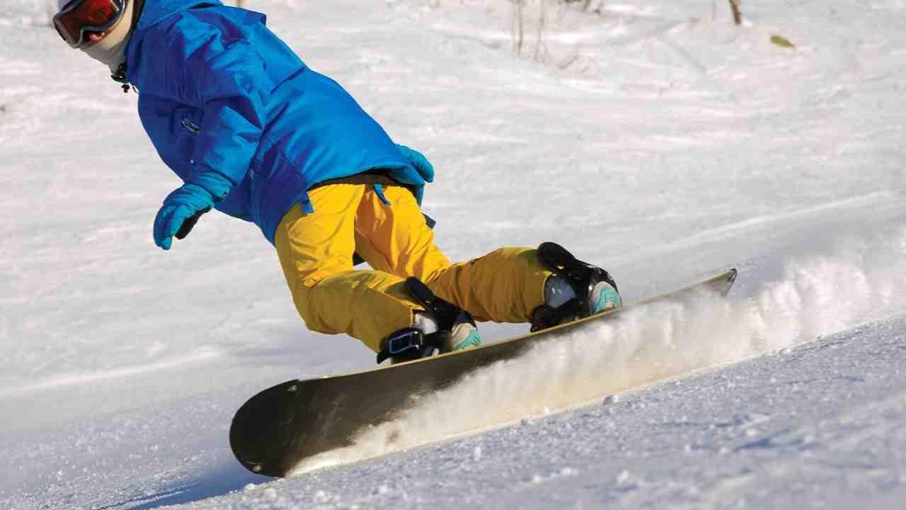 Les virages du snowboard pour les débutants :