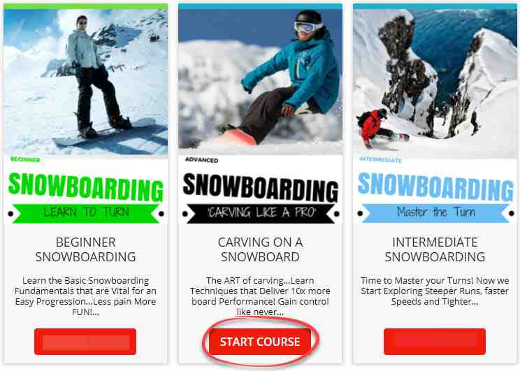 Techniques de virage sur le snowboard