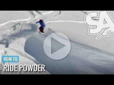 Un tutoriel simple de snowboard freeride.
